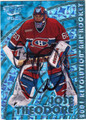 JOSE THEODORE AUTOGRAPHED & NUMBERED HOCKEY CARD #42112H