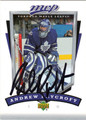 ANDREW RAYCROFT AUTOGRAPHED HOCKEY CARD #42212A