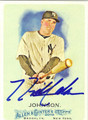NICK JOHNSON AUTOGRAPHED BASEBALL CARD #42212F