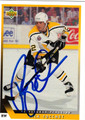RICK TOCCHET AUTOGRAPHED HOCKEY CARD #42212H