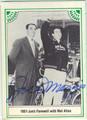 JOE DiMAGGIO NEW YORK YANKEES AUTOGRAPHED VINTAGE BASEBALL CARD #42213D