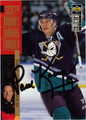 PAUL KARIYA AUTOGRAPHED HOCKEY CARD #41912i