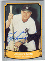 JOHNNY MIZE NEW YORK YANKEES AUTOGRAPHED BASEBALL CARD #42213F
