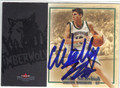 WALLY SZCZERBIAK MINNESOTA TIMBERWOLVES AUTOGRAPHED BASKETBALL CARD #42413J