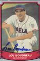 Lou Boudreau Autographed Baseball Card 425