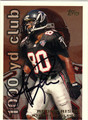 ANDRE RISON ATLANTA FALCONS AUTOGRAPHED FOOTBALL CARD #42313A