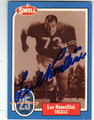 LEO NOMELLINI SAN FRANCISCO 49ers AUTOGRAPHED FOOTBALL CARD #42513F