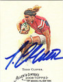 TODD CLEVER AUTOGRAPHED CARD #42811G