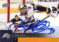 RYAN MILLER AUTOGRAPHED HOCKEY CARD #42912K