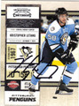 KRISTOPHER LETANG AUTOGRAPHED HOCKEY CARD #42912H