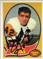DICK HOAK PITTSBURGH STEELERS AUTOGRAPHED VINTAGE FOOTBALL CARD #42913F