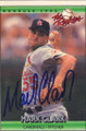 Mark Clark Autographed Baseball Card 439