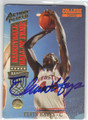 ELVIN HAYES HOUSTON ROCKETS AUTOGRAPHED BASKETBALL CARD #42913J