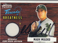 Mark Mulder Autographed Baseball Card 444