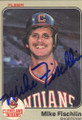 Mike Fischlin Autographed Baseball Card 465