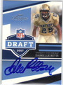 DARRELLE REVIS AUTOGRAPHED ROOKIE FOOTBALL CARD #50113B