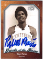 ROBERT PARISH CENTENARY COLLEGE AUTOGRAPHED BASKETBALL CARD #50313B