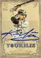 KEVIN YOUKILIS CHICAGO WHITE SOX AUTOGRAPHED BASEBALL CARD #50313E
