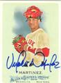 VICTOR MARTINEZ AUTOGRAPHED BASEBALL CARD #50312D