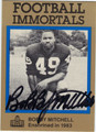 BOBBY MITCHELL AUTOGRAPHED FOOTBALL CARD #50312M