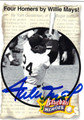WILLIE MAYS SAN FRANCISCO GIANTS AUTOGRAPHED BASEBALL CARD #50513G