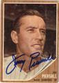 JIM PIERSALL AUTOGRAPHED VINTAGE BASEBALL CARD #50412O