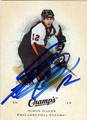 SIMON GAGNE AUTOGRAPHED HOCKEY CARD #50611D