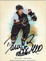 DANIEL BRIERE AUTOGRAPHED HOCKEY CARD #50611H