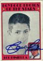 LOU PINIELLA AUTOGRAPHED VINTAGE BASEBALL CARD  #50712J