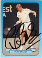 BORIS BECKER AUTOGRAPHED TENNIS CARD #50813C