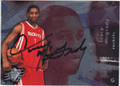 TRACY McGRADY HOUSTON ROCKETS AUTOGRAPHED BASKETBALL CARD #51013F