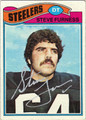 STEVE FURNESS AUTOGRAPHED VINTAGE FOOTBALL CARD #50912U