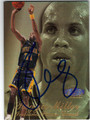 REGGIE MILLER INDIANA PACERS AUTOGRAPHED BASKETBALL CARD #50913D