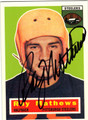RAY MATHEWS AUTOGRAPHED FOOTBALL CARD #51212B