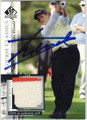 LUKE DONALD AUTOGRAPHED PIECE OF THE GAME GOLF CARD #51212E