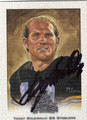 TERRY BRADSHAW AUTOGRAPHED FOOTBALL CARD #51212G