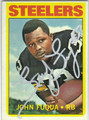 JOHN FUQUA PITTSBURGH STEELERS AUTOGRAPHED VINTAGE FOOTBALL CARD #51313C