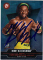 KOFI KINGSTON AUTOGRAPHED WRESTLING CARD #51413G