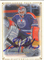GRANT FUHR AUTOGRAPHED HOCKEY CARD #51513D
