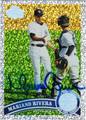 MARIANO RIVERA NEW YORK YANKEES AUTOGRAPHED BASEBALL CARD #51613G