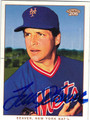 TOM SEAVER NEW YORK METS AUTOGRAPHED BAEBALL CARD #51913H