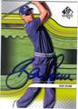 BEN CRANE AUTOGRAPHED GOLF CARD #52013B