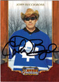 JOHN BUCCIGROSS ESPN ANNOUNCER AUTOGRAPHED CARD #52013J
