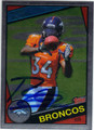 RONNIE HILLMAN DENVER BRONCOS AUTOGRAPHED ROOKIE FOOTBALL CARD #52113H