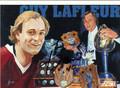 GUY LAFLEUR AUTOGRAPHED HOCKEY CARD #52212B