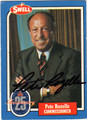PETE ROZELLE AUTOGRAPHED FOOTBALL CARD #52212G