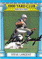 STEVE LARGENT AUTOGRAPHED FOOTBALL CARD #52212N