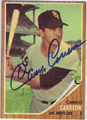 CAMILO CARREON CHICAGO WHITE SOX AUTOGRAPHED VINTAGE BASEBALL CARD #52213E