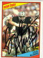 LYLE ALZADO AUTOGRAPHED FOOTBALL CARD #52312B