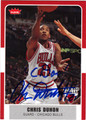 CHRIS DUHON AUTOGRAPHED BASKETBALL CARD #52312D